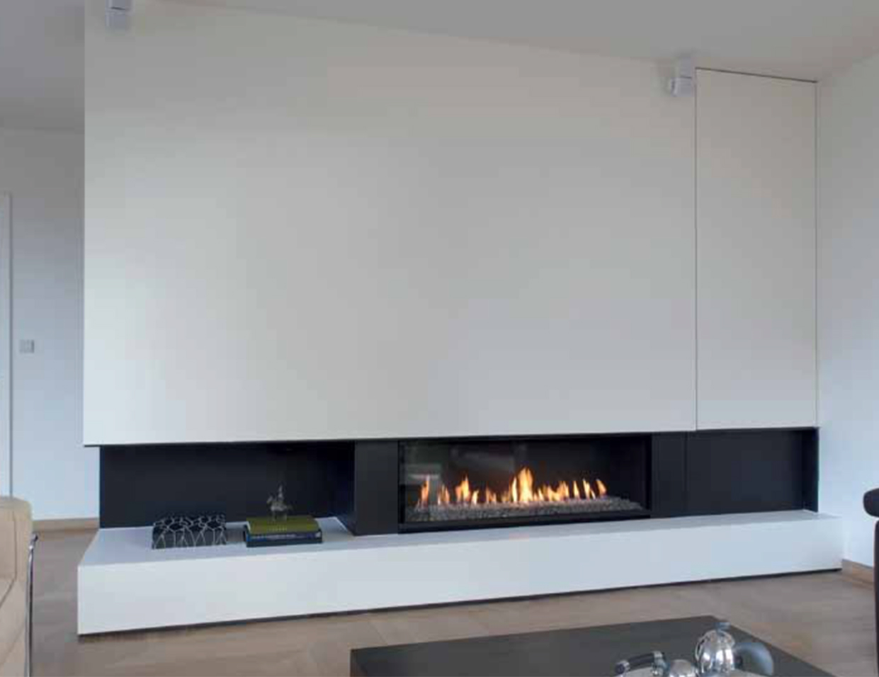 cheminee au gaz contemporaine ew79 montrealeast. Black Bedroom Furniture Sets. Home Design Ideas